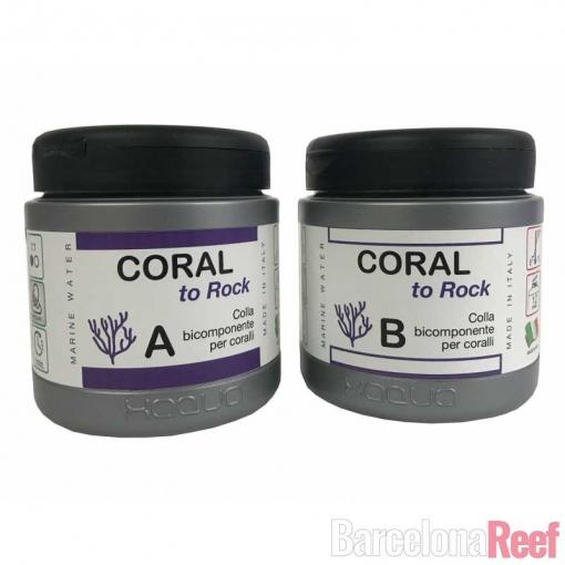 Pegamento para corales Coral to Rock de Xaqua para acuario marino   Barcelona Reef